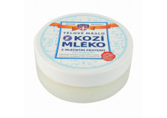 Kozí mléko tělové máslo, 200ml