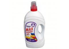 Max Power gel 5,6L tekutý prací prostředek