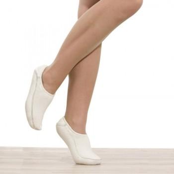 Elastické návleky na chodidla baleríny