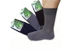 Ponožky bambusové hladké 3 ks