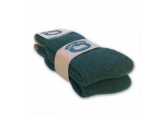 Ponožky z ovčí vlny 425g - zelené sada 2ks