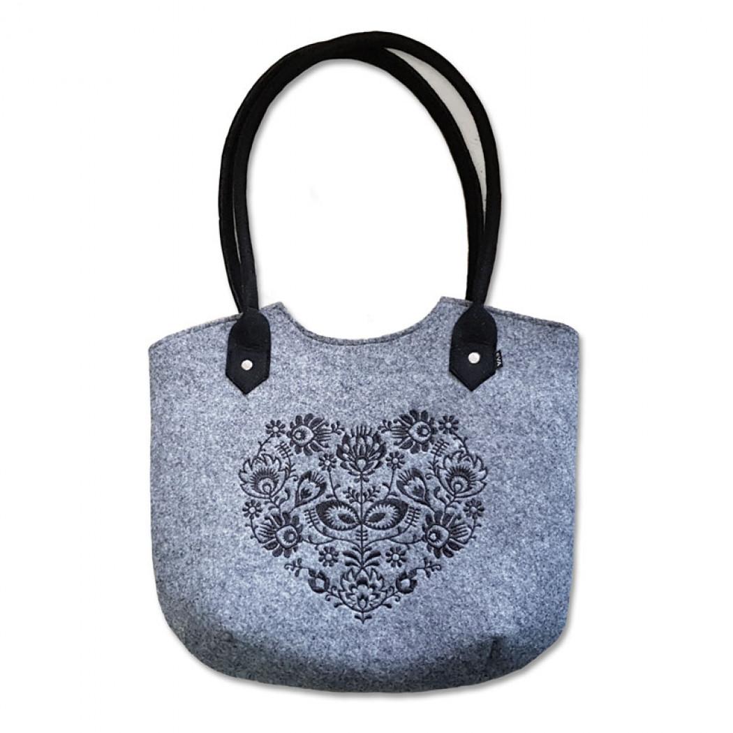 Filcová taška  37cce56373b