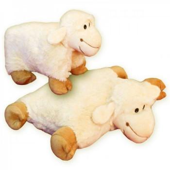Rozkládací polštářek ovečka