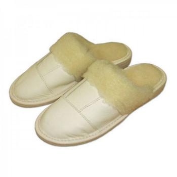 Pantofle světlé