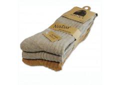 Vlněné ponožky Lama Alpaka pánské - sada 3 ks