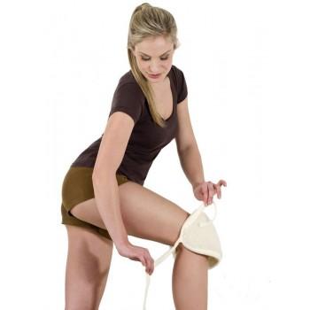 Chránič kolena z ovčí vlny