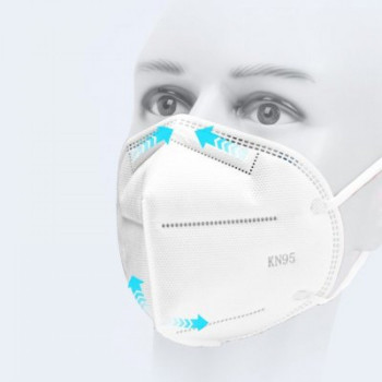 respirátor bezdoteku FFP2 / KN95 2 ks