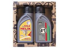 BOHEMIA Gifts Kosmetický balíček pro muže – 2x sprchový gel 250 ml – olej