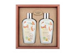 Dárková sada Med a Kozí mléko sprchový gel 250 ml + šampon na vlasy 250 ml