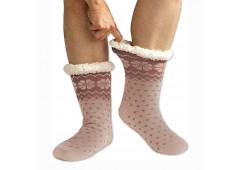 Spací ponožky - vzorované  2 + 1zdarma